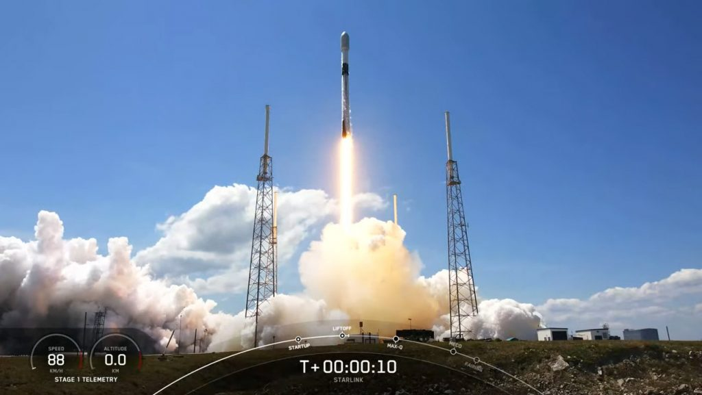 Falcon 9 Launch has Sought SpaceX to Resume Starlink