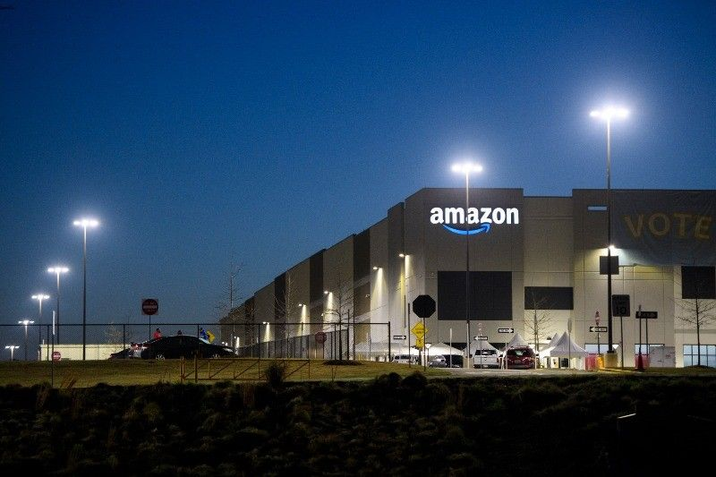 Union appears headed to defeat in Amazon vote