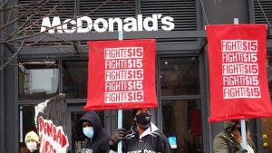 American Fast Food Company Raises Wages