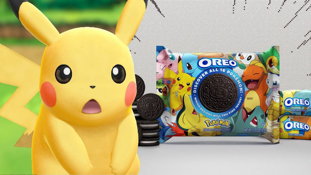 Rare Pokemon Oreos are Sold for Thousands on eBay